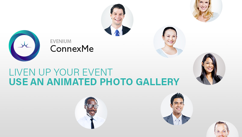 Find our new feature for ConnexMe to create an animated photo gallery